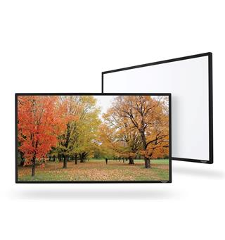 "Grandview Edge - Hvit Rammespent lerret 203 x 114 (92"")"