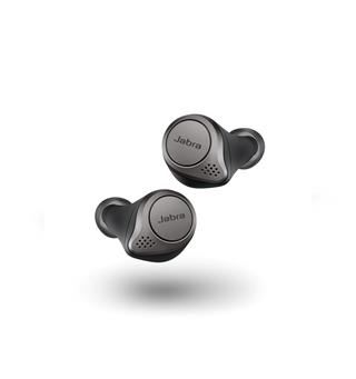 Jabra Elite 75t In-ear trådløse ørepropper - Titan/Sort