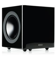 "Monitor Audio Radius 390 Subwoofer 10"" - Sort høyglans"