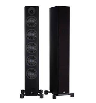 System Audio Legend 60.2 Silverback Aktive høyttalere - Sort