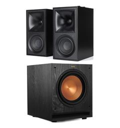 Klipsch The Fives og SPL-100 Aktiv høyttaler med subwoofer - Sort