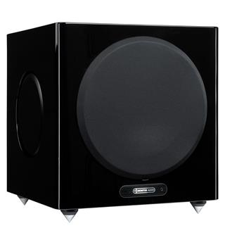 "Monitor Audio Gold W12 Subwoofer 12"" - Sort høyglans"