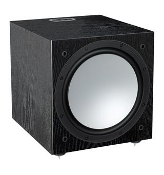 "Monitor Audio Silver W-12 Subwoofer 12"" - Sort eik"