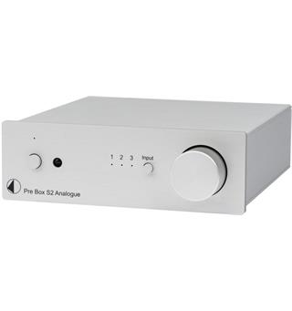 Pro-Ject Pre Box S2 Analogue Forforsterker - Sølv