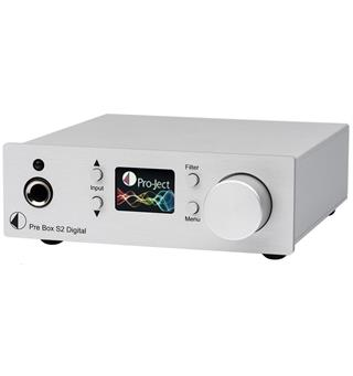 Pro-Ject Pre Box S2 Digital Forforsterker - Sølv
