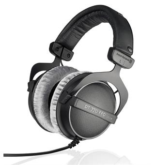 Beyerdynamic DT 770 Pro 80 Around-ear hodetelefoner - Sort