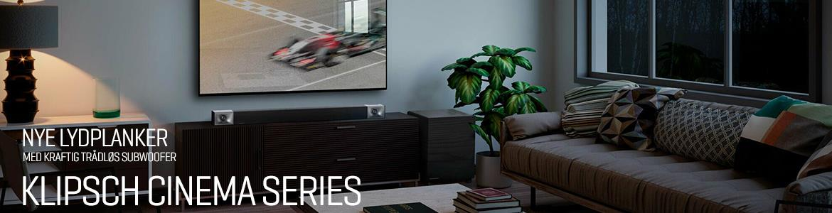 Klipsch Raise the bar Cinema Soundbars