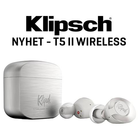Klipsch T5 II Wireless Silver