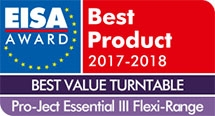 Eisa Awards Pro-Ject Essential III